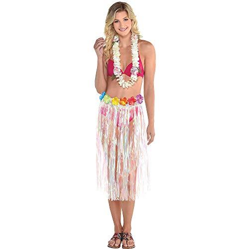 Hibiskus-bikini-top (Amscan Hula-Rock für Erwachsene)