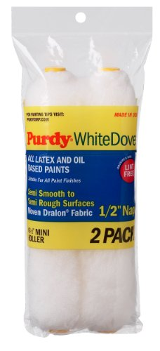 purdy-140605064-white-dove-1-2-nap-wire-mini-roller-replacements-case-of-6-6-1-2