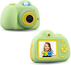 Toyshine Kids Camera 3MP 1080P HD Mini Children Camera with Selfie Timer (Without SD Card) (Green)