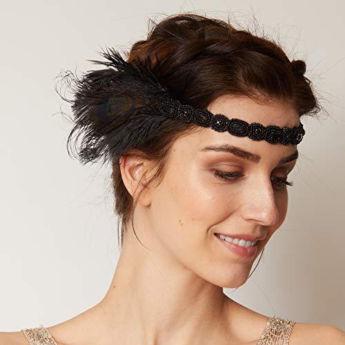 er Jahre Haarschmuck Boho Stirnband Hochzeit Haarband Gatsby Stirnband Haarband Flapper Stirnband ()