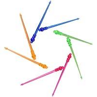 IMS Party 300947 - Palillos para aperitivos (85 mm, 200 unidades), diseño de flecha, varios colores