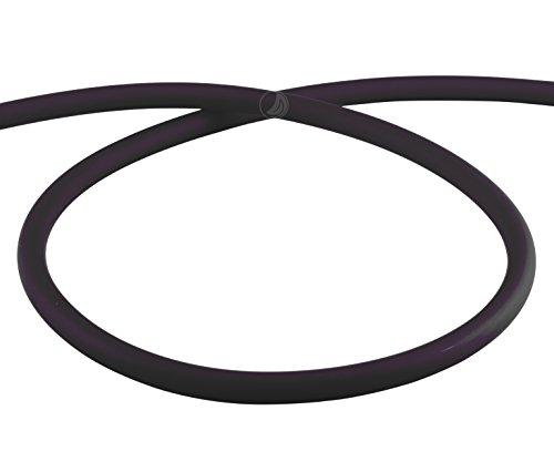 Preisvergleich Produktbild AMY Deluxe Shisha Silikonschlauch matt - schwarz | 150 cm