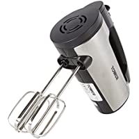 Tower T12016 Stainless Steel Hand Mixer with 6 Speed Settings, 300 W