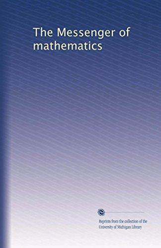 The Messenger of mathematics (Volume 2) -