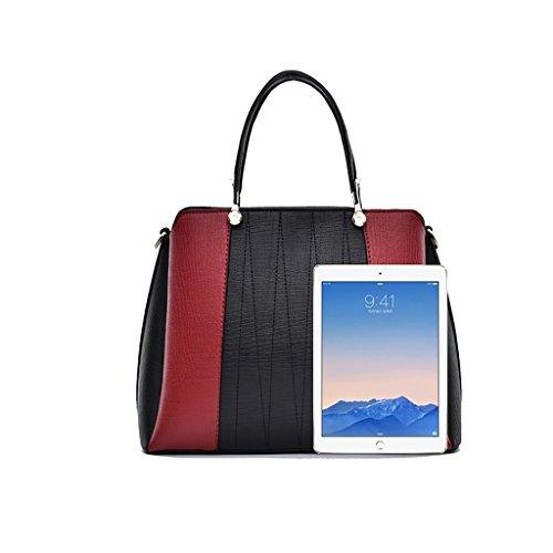 Baymate Frühling und Sommer arbeiten Handtaschen Umhängetasche Stitching Umhängetasche Damenhandtasche Stil 1
