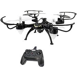EACHINE E33C RC Cuadricóptero Drone y 2MP HD cámara 2.4G 6-Axis Headless Mode Remote Control Toys Micro Nano Quadcopter RTF Modo 2