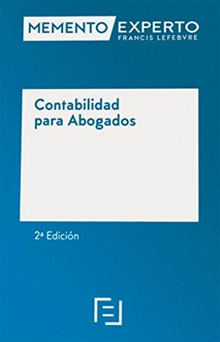 MEMENTO EXPERTO CONTABILIDAD PARA ABOGADOS 2'ED