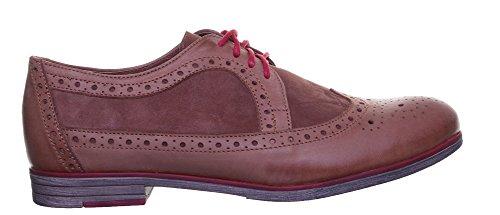 Justin Reece  6800, Chaussures de ville à lacets pour femme Brown XX12