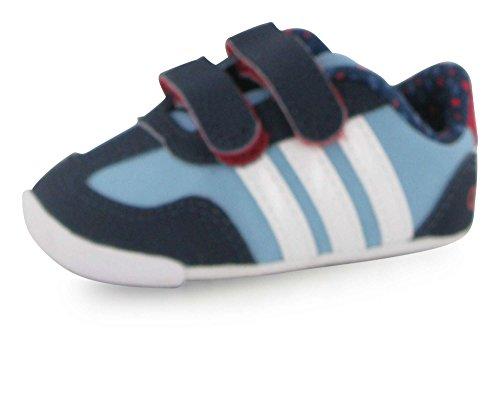 adidas Neo Kinderschuhe Babyschuhe Krabbelschuhe Dino Crib blau, Größe:18