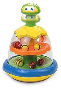 Happy Kid - Toupie abeilles tournantes vert