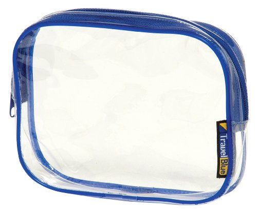 Travel Blue Nr.351 Trousse de toilette / trousse pour voyages en avion Transparent
