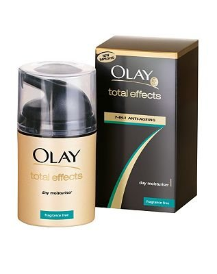 Olay Total Effects Day Moisturiser Fragrance Free 7-in-1 Anti-Ageing 50ml
