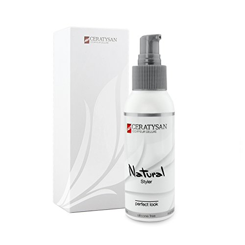 COIFFEUR DELUXE Gel volume et fixation Natural Styler sans silicone | Coiffure parfaite – définition naturelle | Tenue forte et soin pour cheveux courts | 100 ml | Produit professionnel