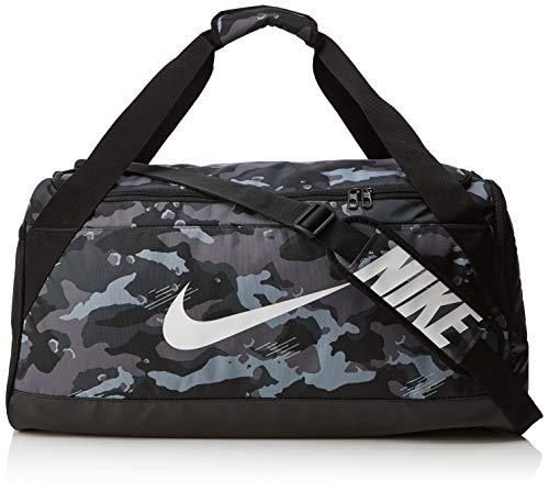 hsene NK BRSLA M DUFF - AOP Klassische Sporttaschen, Dark Grey/Black/White, One Size ()