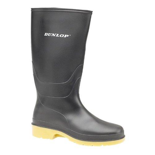 Dunlop - Stivali di Gomma - Donna Nero