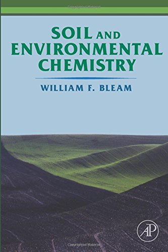 Soil and Environmental Chemistry (Environmental Soil Chemistry)
