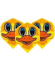F6009 Duck Polymet ailettes de flechettes - 4 jeux par paquet (12 vols au total)