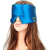 Preisvergleich für HAO Bluetooth-Augenmaske-Schlaf-Kopfhörer-Drahtloser Stereo-Bluetooth-Kopfhörer für Das Auflisten von Musik-Telefon-Naturseide-Sekretariat...