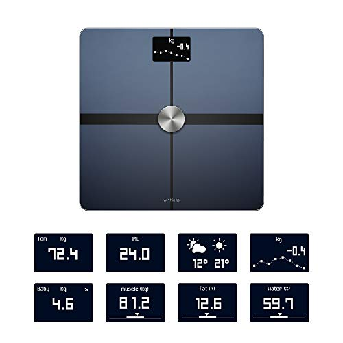 Withings Body+ - Wi-Fi Body Composition Smart Scale