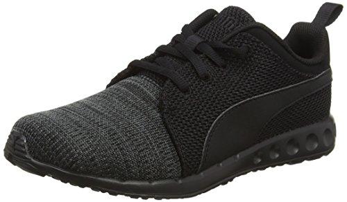 Puma Unisex-Erwachsene Carson Runner Knit Eea Laufschuhe Schwarz (BLACK/GREY 05BLACK/GREY 05)