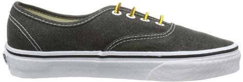 Vans  U AUTHENTIC  (WASHED) BLACK, basket mixte adulte Noir (Washed/Black)