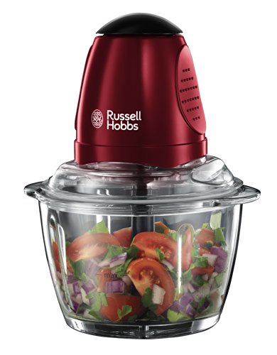 Russell Hobbs 20320 Rosso Mini Chopper, 200 W - Red by Russell Hobbs