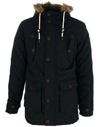 Brave Soul 'Cheltenham' Parka - Hiver Manteau avec Capuche