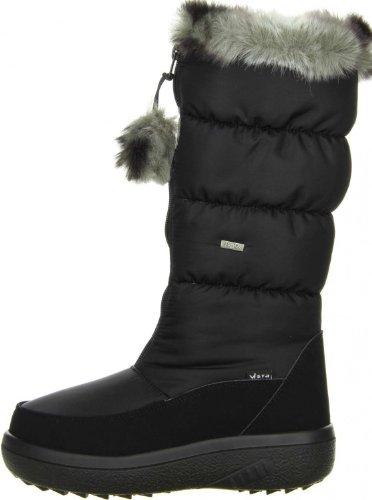 Vista  11-12462blk, Bottes de ski femme Noir - Noir