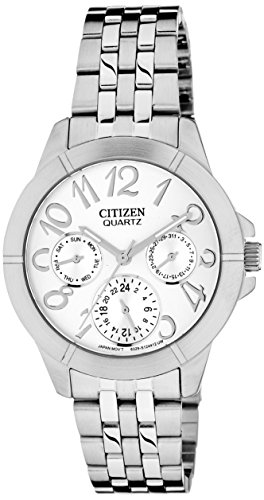 Citizen Analog Silver Dial Women's Watch - ED8100-51A