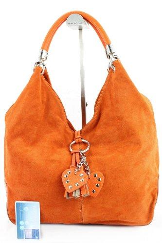 Made Italy, Borsa a spalla donna Arancione (arancione)