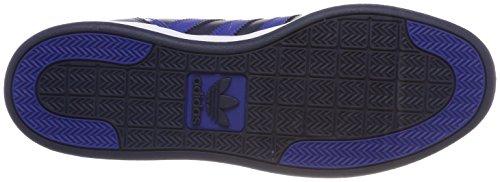 adidas Varial Mid, Scarpe da Skateboard Uomo Blu (Collegiate Navy/collegiate Royal/footwear White 0)