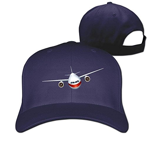 fboylovefor Air Plane Front Designer Trucker Cap Peaked Hat Unisex Baseball Hats Replacement Front Lens Cap