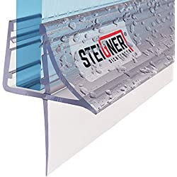 60 Cm - uK09 joint de rechange pour porte de douche épaisseur 5/6 mm/7 mm/8 mm verre d'épaisseur déflecteur d'eau de douche de phoques