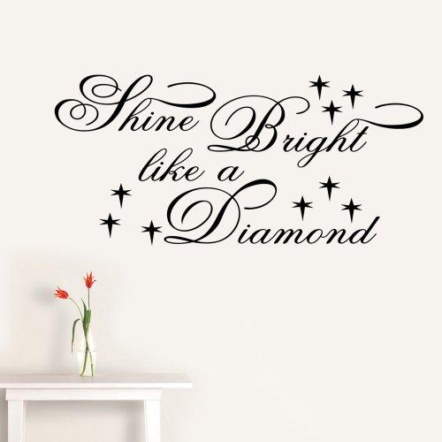 shine-bright-like-a-diamond-rihanna-text-wand-aufkleber-aufkleber-zitat-schlafzimmer-lounge-x-gross