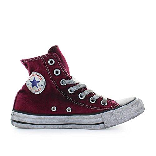 2954405c1e4128 Converse Zapatos de Mujer Zapatilla Mujer Chuck Taylor All Star Ltd Ed  Burdeos Primavera Verano 2018