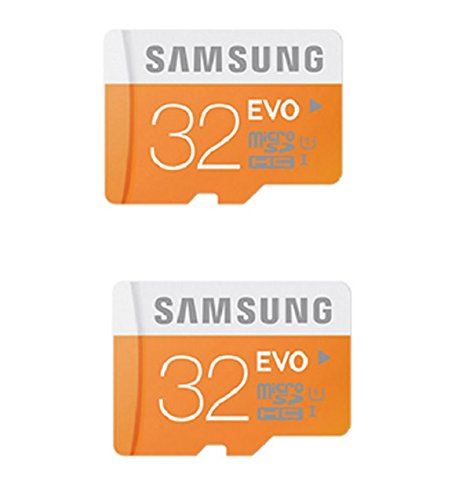 Combo Of Samsung 2 pcs 32 Gb Class 10 Micro Sd Memory Card And 10 Pcs Micro Sd M003 Usb Card Reader Only From M.P.Enterprises