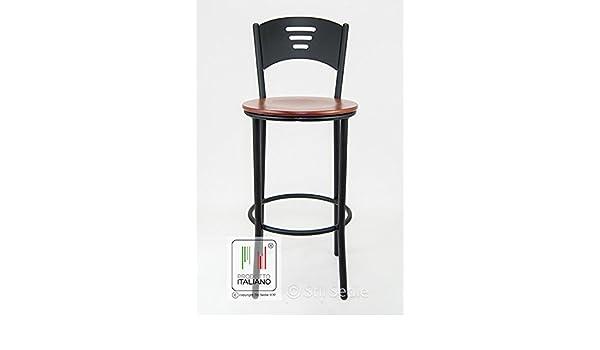 Stil sedie sgabello nero cucina bar ristorante sala slot modello