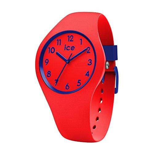 Ice-Watch - ICE ola kids Circus - Montre rouge pour garçon avec bracelet en silicone - 014429 (Small)