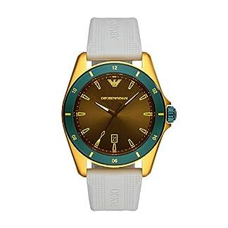 Emporio Armani Reloj Analógico para Hombre de Cuarzo con Correa en Caucho AR11234