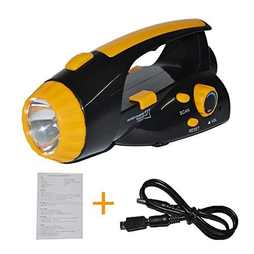 Preisvergleich Produktbild alian Hand-Cranked Power Flashlight Radio Self-Powered LED Multi-Function Emergency Flashlight