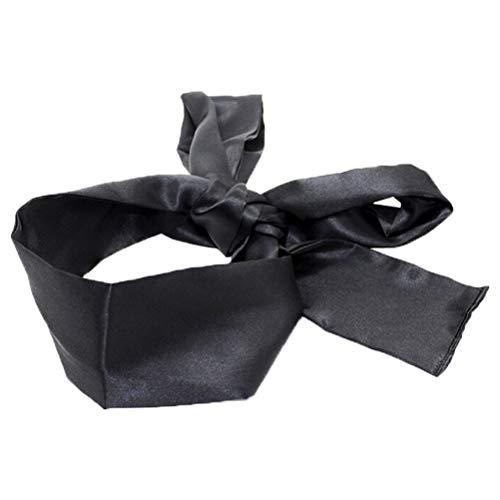 HEALIFTY Satin Augenbinde Maske weichen bequemen Augenmaske Band Blinder für Home Travel Kostüm Requisiten - Machen Augenmaske Kostüm