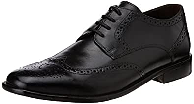 Hidesign Men's Henry Black Leather Formal Shoes - 10 UK/India (45 EU)