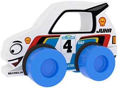 Millaminis Millaminis0155 Racing Buddies – Juha 4 White-Made en Europe, Multi Couleur | La Boutique En Ligne