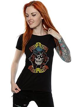 Guns N Roses Mujer Tour 88 Camiseta