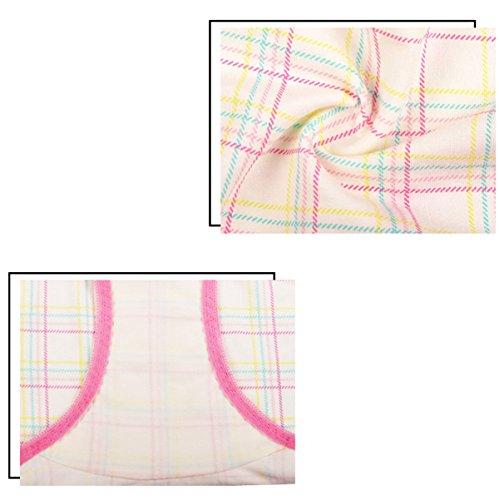 Damen Mikrofaser-Schlüpfer Der Taille Baumwollgewebe Kleine Winkel Spitze Sexy Cute Pink