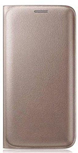 Aspir Flip Cover For Micromax Vdeo 2 Q4101(Gold OG Leather)