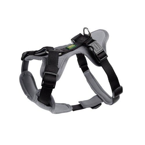 Hundegeschirr Neopren M, schwarz/grau, Nylon/Neopren… | 04016739667991