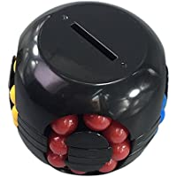 Preisvergleich für ODN Money Cube Spardose Geldlabyrinth für eine lustige neue Art Geschenke Gehirnspiel Spielzeug für Kinder (Schwarz)