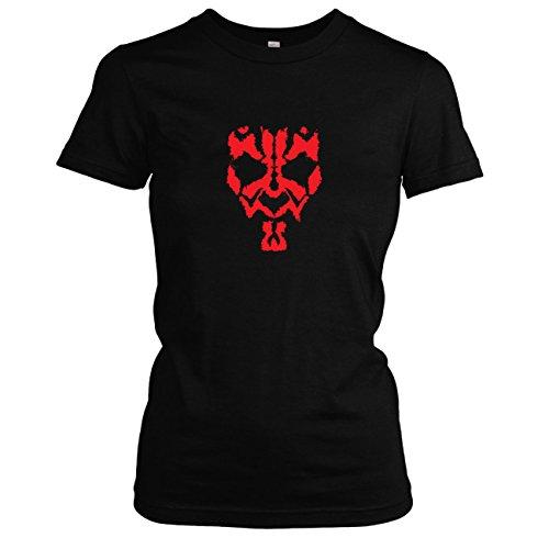 Texlab - SW: Maul - Damen T-Shirt, Größe S, schwarz