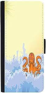 Snoogg Summer Illustrattiondesigner Protective Flip Case Cover For Samsung Ga...